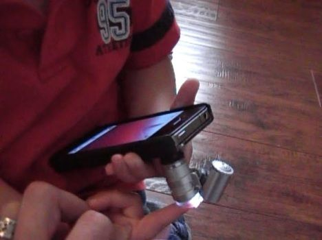 DIY: $5 iPhone Microscope Mod | YES, I love technology    | Techno