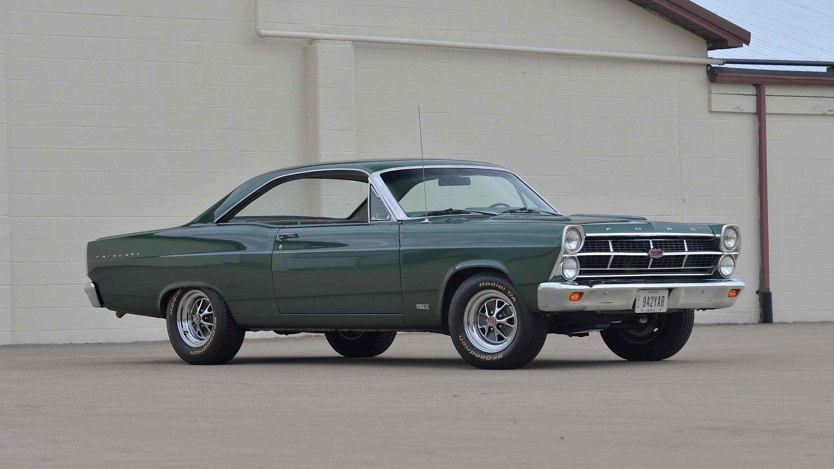 1967 Ford Fairlane Gta Presented As Lot F183 At Kansas City Mo