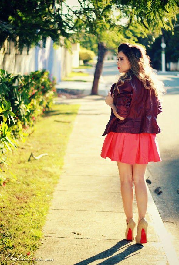 No look jaqueta com vestido por blogdale em julho 7, 2014