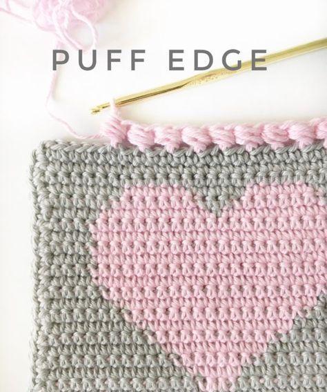 Photo of Häkeln Puff Edge Stitch | Strickstelle