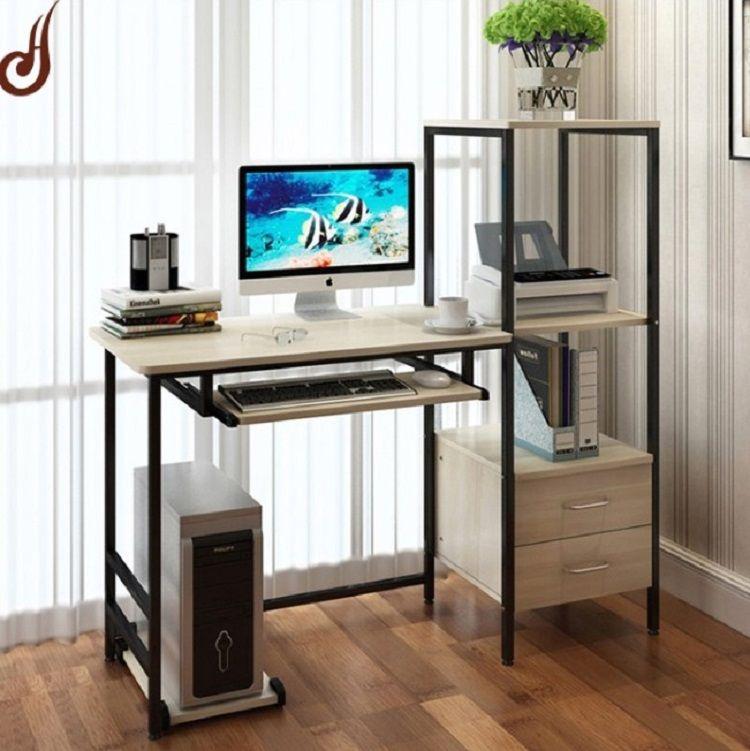 75 Desain Meja Komputer Minimalis Modern Terbaru 2019 Home Room Design Furniture Home Office Design