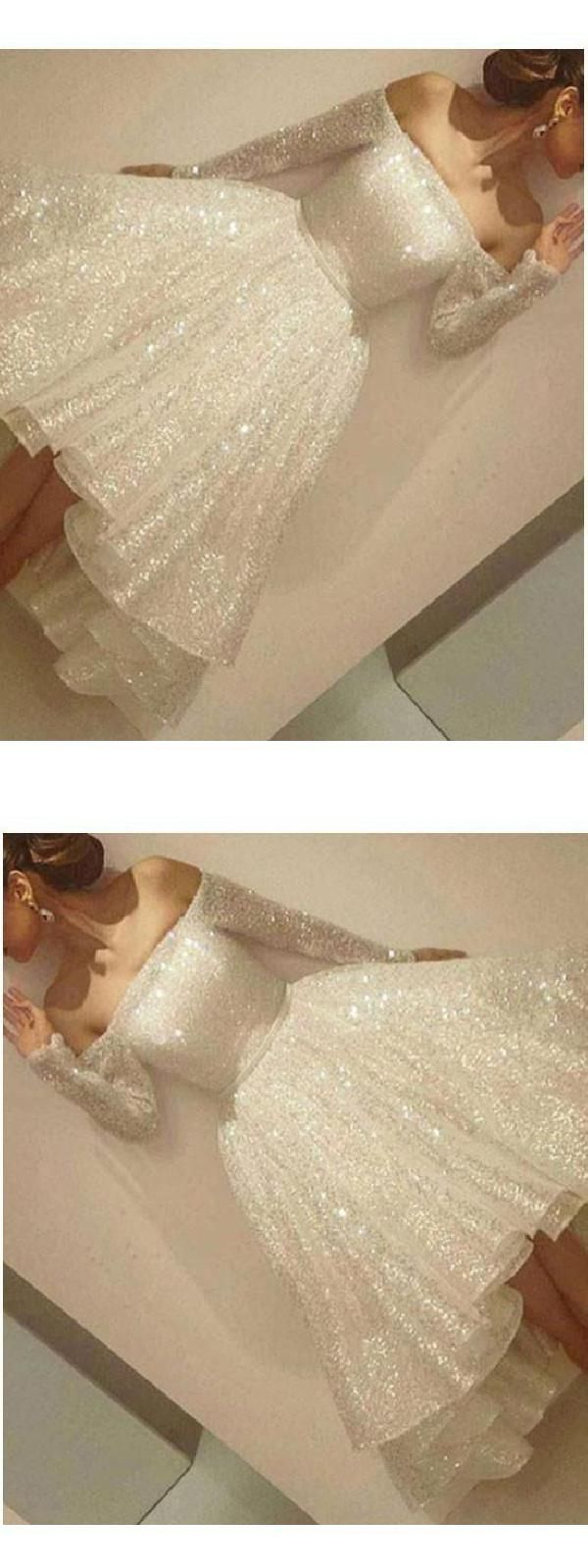Outlet alineprincess party homecoming dresses short white dresses