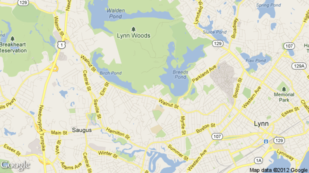 Map of Lynn Woods Reservation | Favorite Places & Spaces | Wood, Map ...