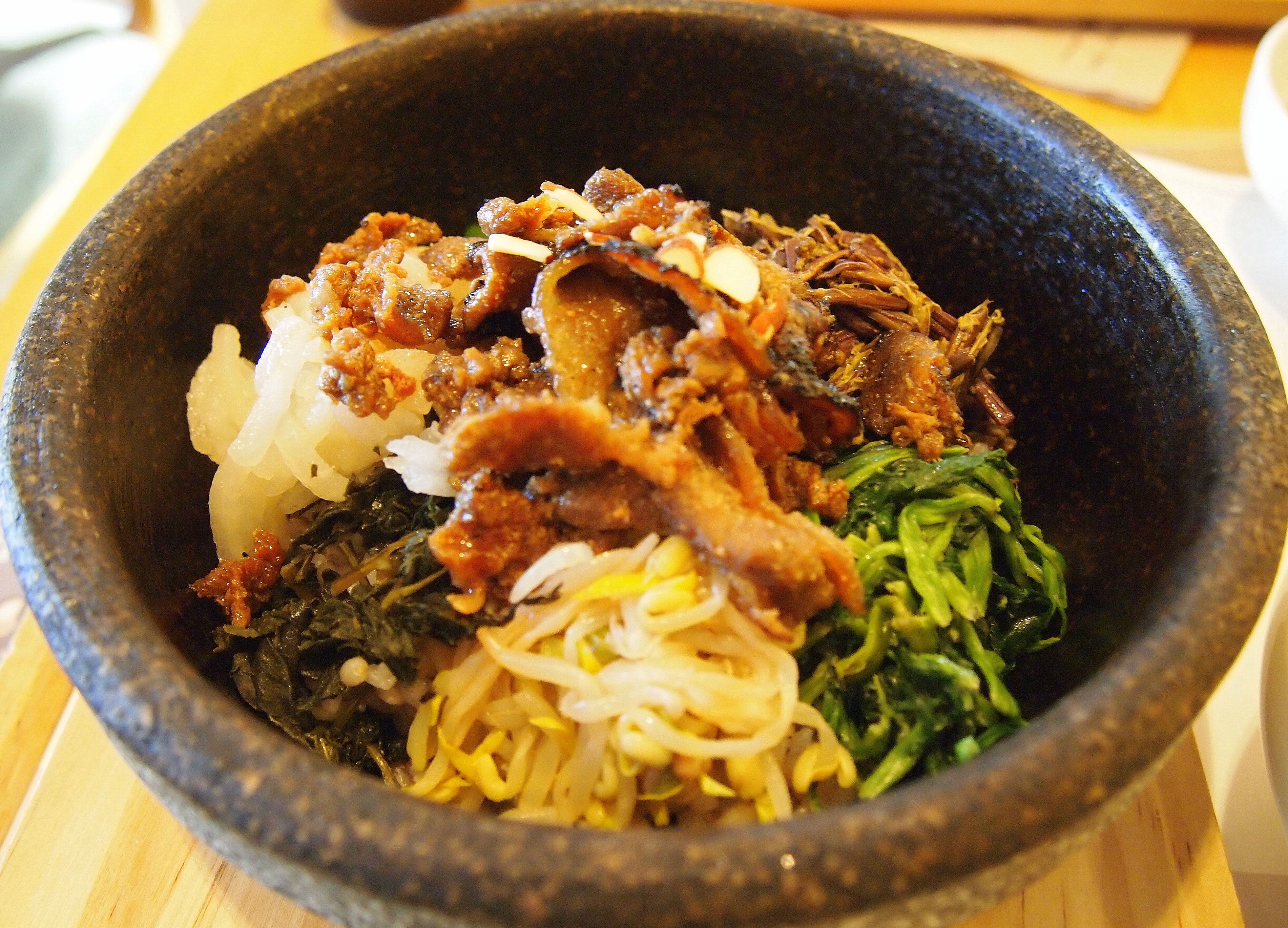 Bibimbap is one of Korea\'s most famous foods and is quite popular ...