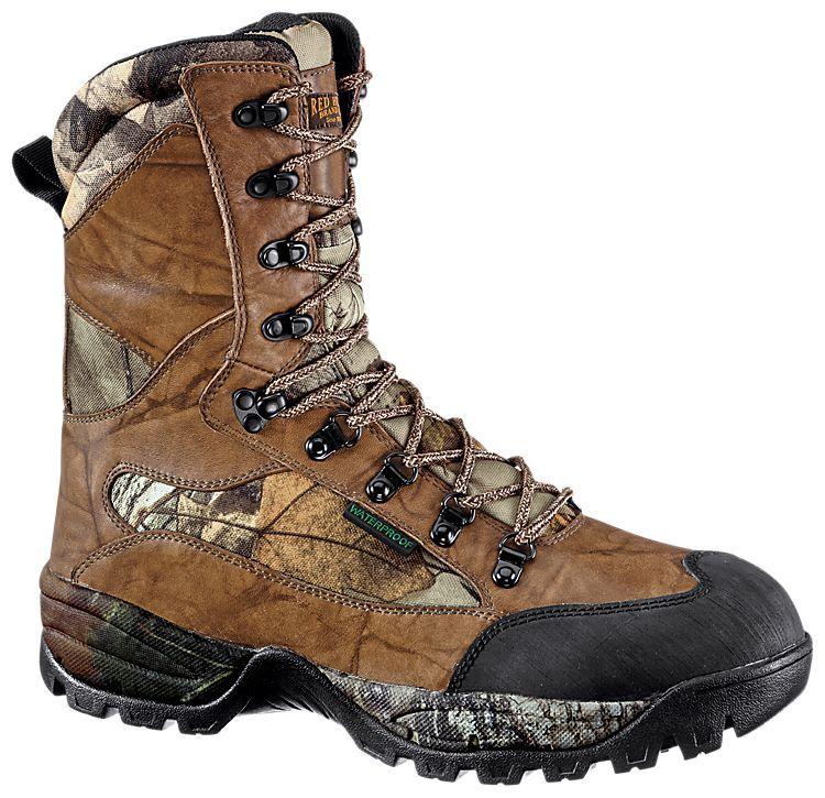 Redhead hunting boot