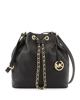 aa0f453847e7 V23P0 MICHAEL Michael Kors Large Frankie Drawstring Shoulder Bag ...