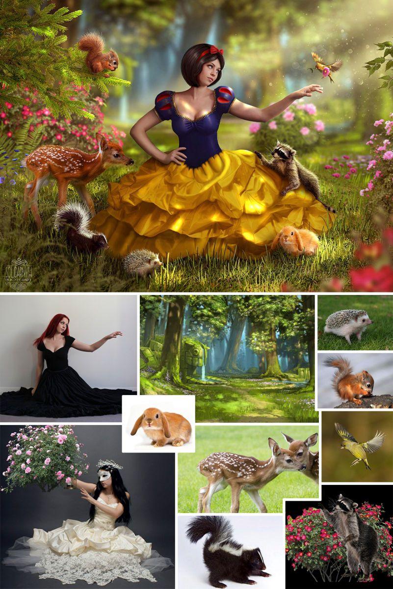 Ukrainian Artist Uses Photoshop To Combine Multiple Images Into One Magical Photo Photoshop Photography Photoshop Photos Photo Editing Photoshop