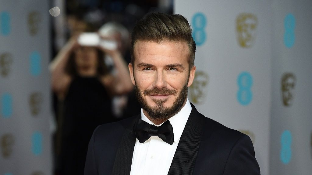 David Beckham Elegant Hairstyles 2015