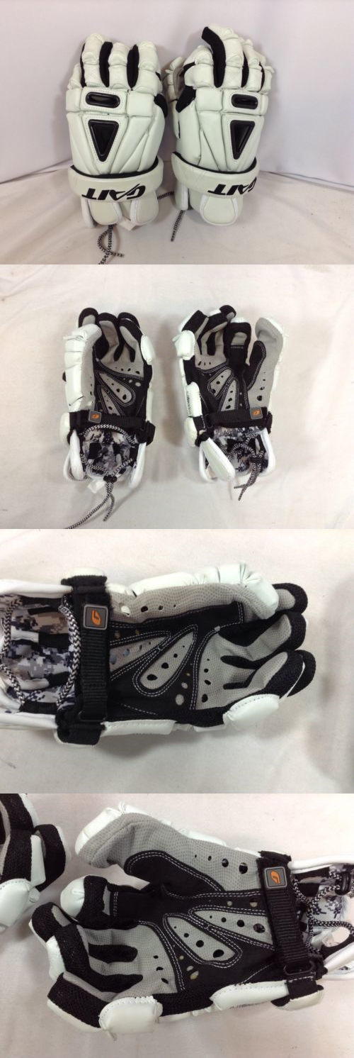 Protective Gear 62164: Gait Recon Lacrosse Gloves Senior 13 Inch Medium White New (Gl571) Ihh -> BUY IT NOW ONLY: $49.99 on eBay!