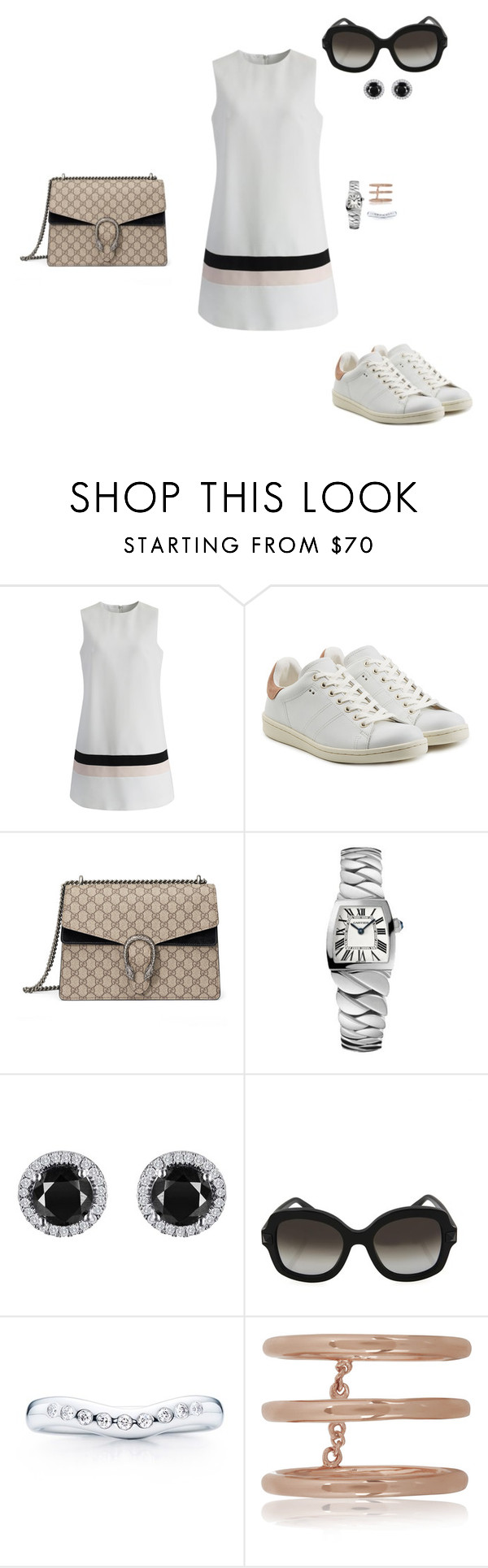 """""""Sem título #1959"""" by analuli on Polyvore featuring moda, Chicwish, Étoile Isabel Marant, Gucci, Cartier, Reeds Jewelers, Valentino, Elsa Peretti e Arme De L'Amour"""