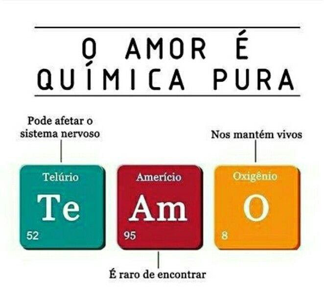 O Amor E Quimica Pura Cantadas De Quimica Memes De Amor Quimica