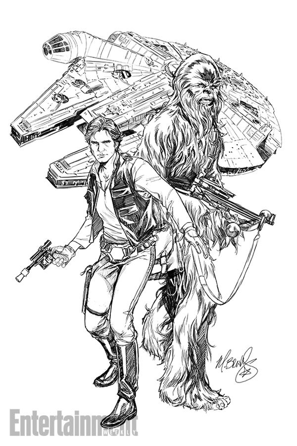 First Look at Marvel\'s HAN SOLO Comic Series | Solo climbing, Comic ...