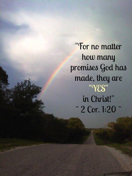 "God's ""YES"" in Christ..."