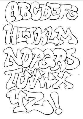 Tag Alphabet Recherche Google Graffiti Drawing Graffiti