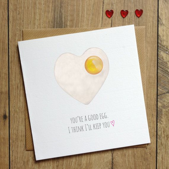 You Re A Good Egg Birthday Card Valentine S Card I Etsy In 2021 Funny Birthday Cards Birthday Cards For Him Valentines Cards
