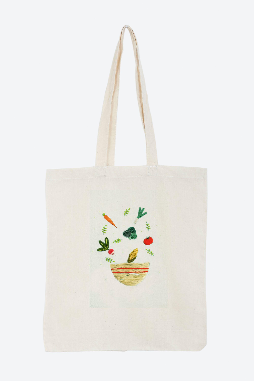 Baobap ensaladera - diseño | Ideas para bordar | Bordado ...
