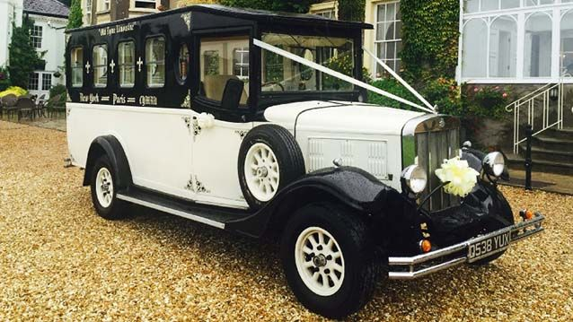 Vintage Asquith Wedding Bus Available In Wales And Part Of Herefordshire