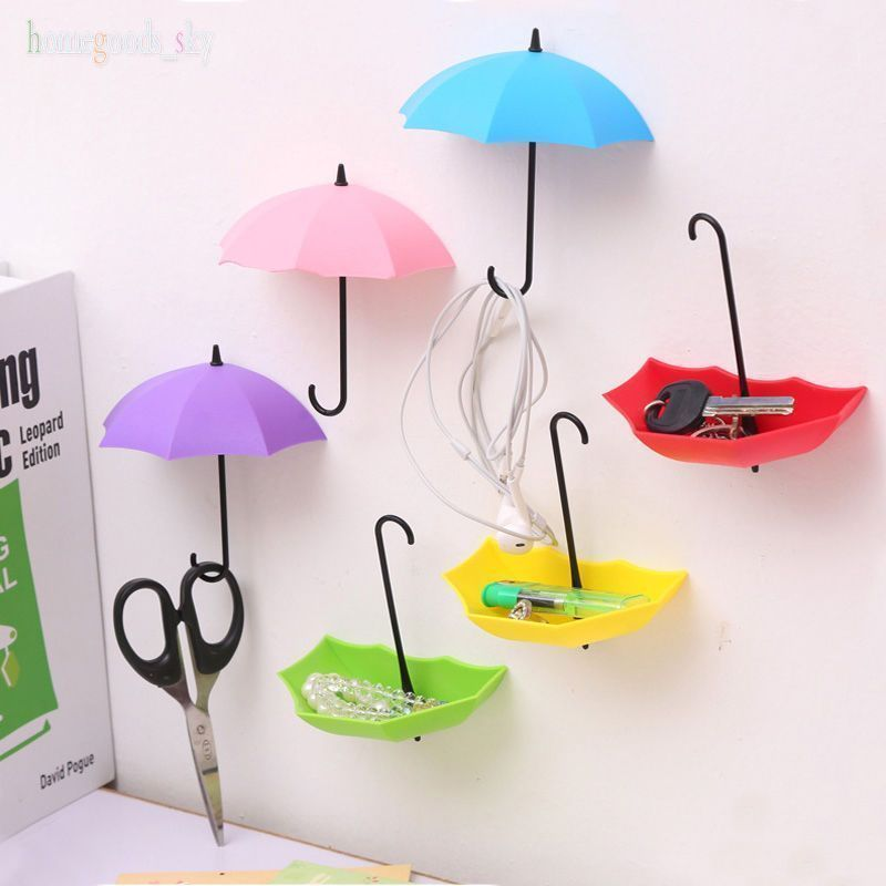 Cute Umbrella Shape Hook Wall Hangers Rack Organizer Kids Room Hanging Decor HOT..., #Cute #...
