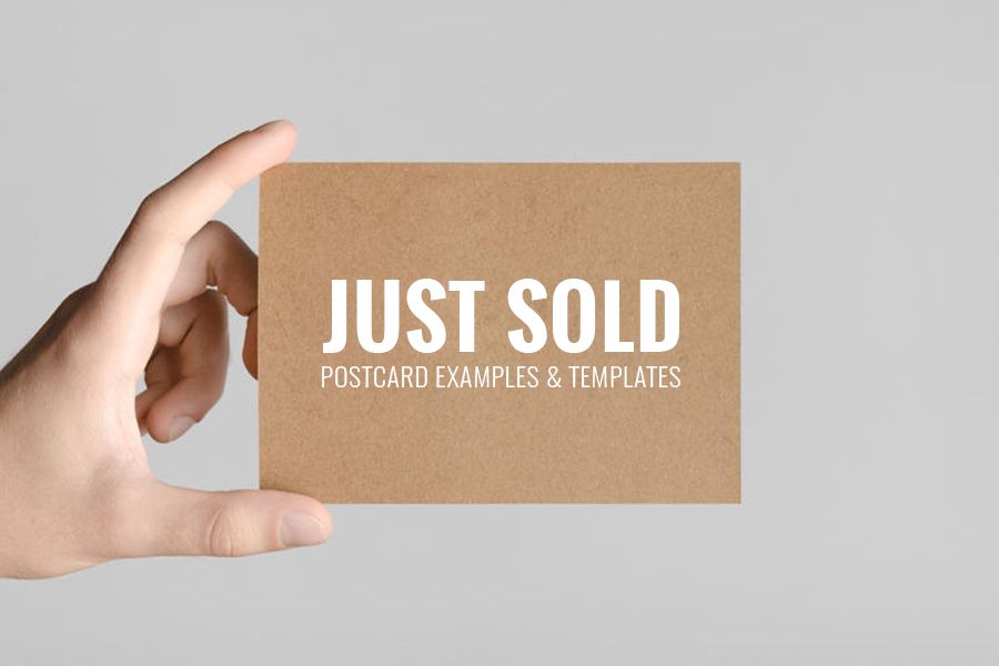 Just Sold Postcards Are Sent Out By Realtors After They Make A Sale Of A Home In The Hopes Of Getting Others In T Postcard Examples Postcard Becoming A Realtor