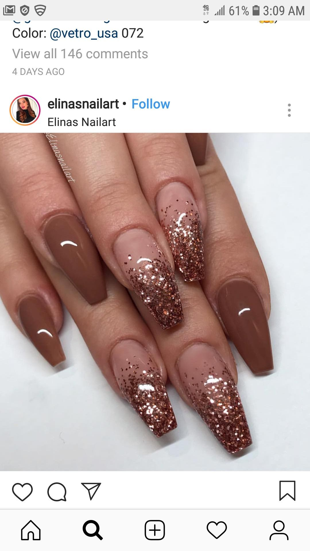 Pin By Sherelle Ponder On Beauty Fall Acrylic Nails Christmas Nails Acrylic Ombre Nail Designs