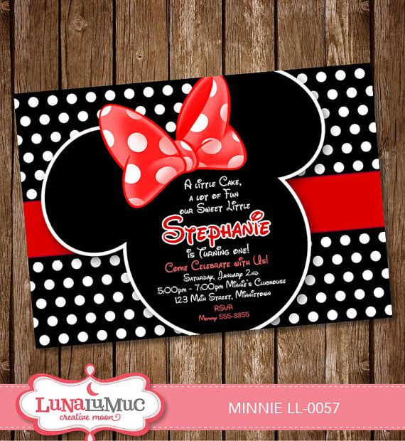awesome minnie mouse invitation template – 21+ free psd, vector, Printable invitations