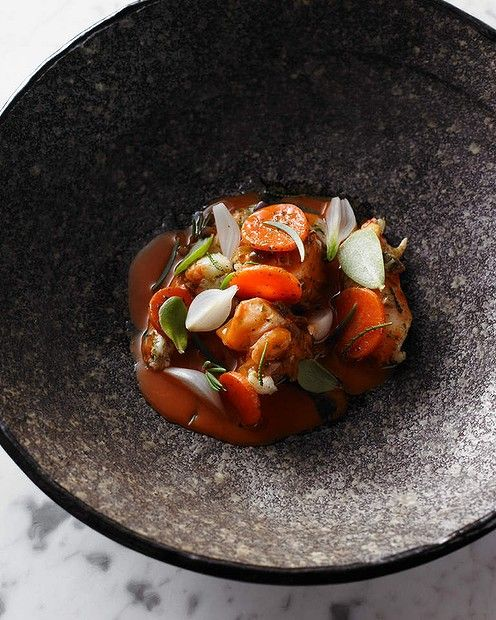A vegetarian dish from Brae.