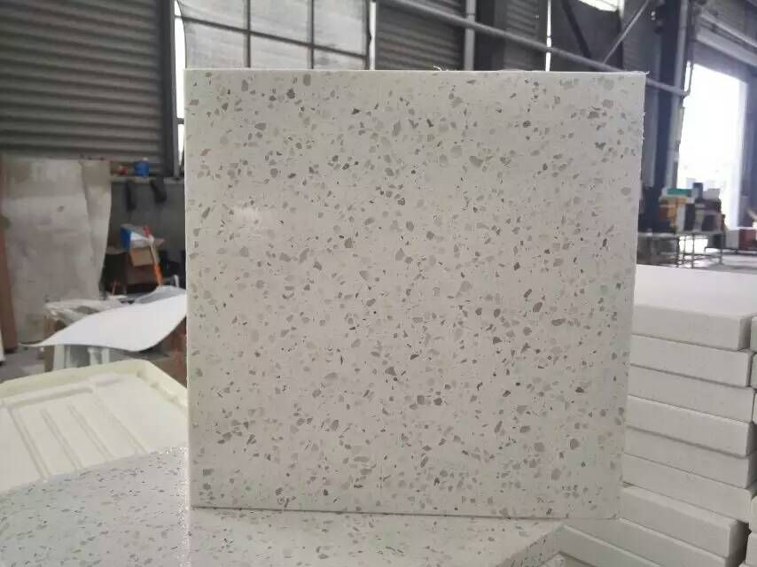 White Quartz Bathroom Counter sparkle white engineered quartz stone, applied for kitchen and