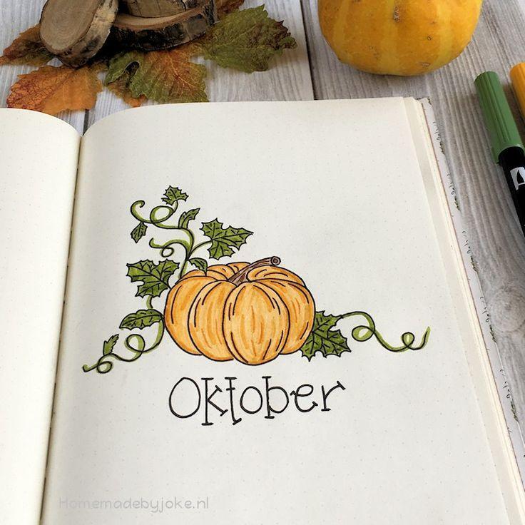 Bullet journal - Oktober 2018 -  Bullet  Journal  Oktober  themes