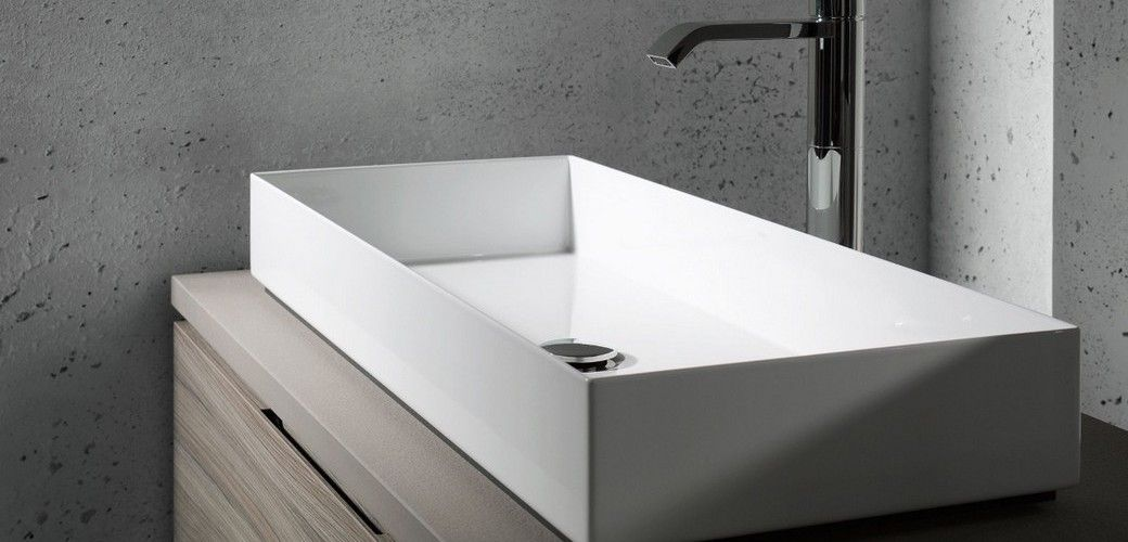 Alape Deutsche Stahlwaschtische Aufsatzwaschbecken