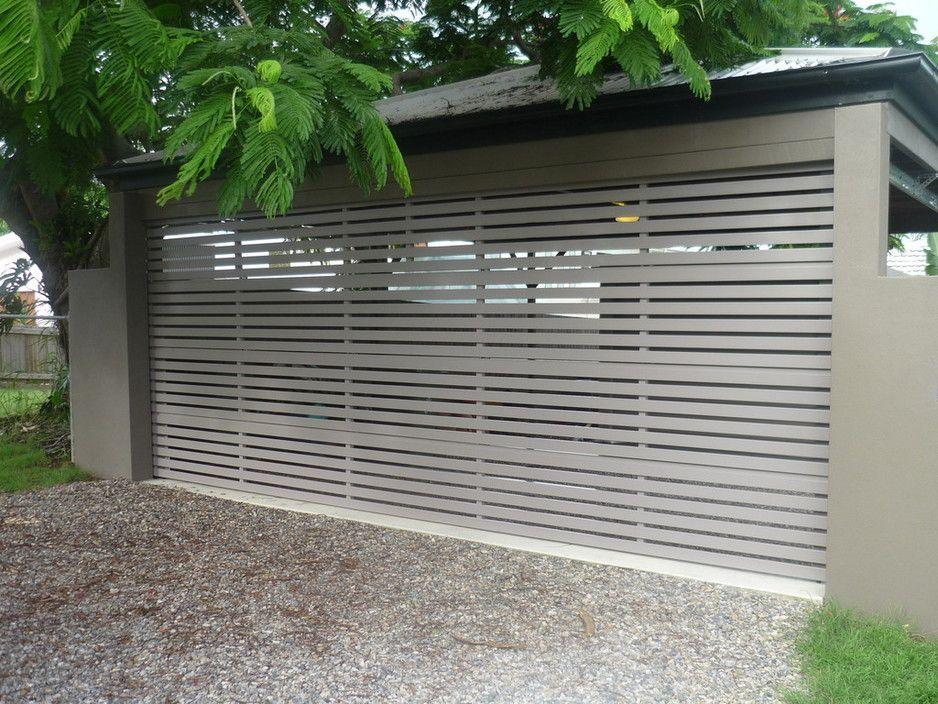 Aluminium panel door Brisbane North - Doors Direct Outdoor Home Improvement Boondall QLD & 25 best images about car ports on Pinterest | Green roofs Carport ... Pezcame.Com