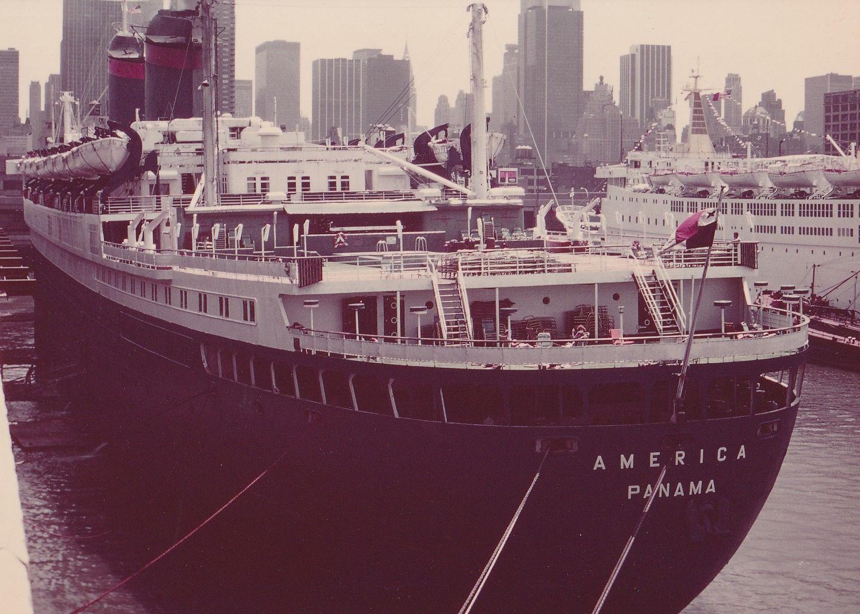 S.S. America 1978 Venture Cruise Lines Seite1- ssamerica