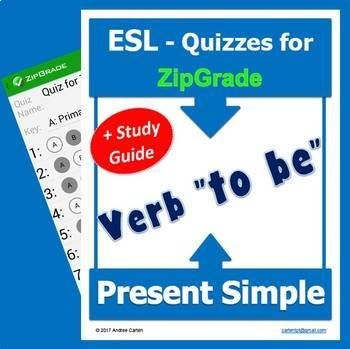 Yes, you have ZipGrade, but do you have quizzes ready for your ESL-EFL students  ready to be given and then scanned into ZipGrade? Do you also have the Study Guide?Here are 2 great quizzes ready to be used and graded with ZipGrade, and best of all, for your French and Spanish speakers, it comes with the Study Guide that has a section translated into their languages, so they know what it means, and for those who speak another language, it also comes with a section to fill out, if needed.THIS…