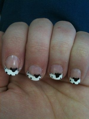 Will Try Without The Mouse Ears Nail Art Inspiration Pinterest