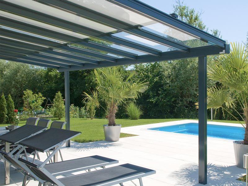 Glasdachsystem Terrado - KLAIBER Markisen Garten Pinterest - markisen fur balkon design ideen