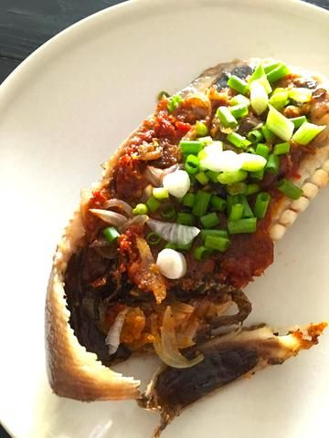 Sambal stingray recipe (thermomix sambal) panfried stingray in 15 min by Chef and Divine