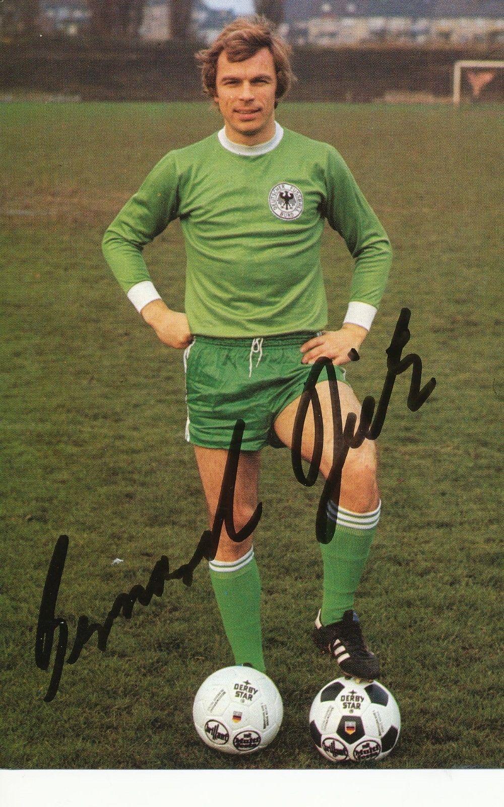 Bernard Dietz Dfb Wm 1978 Autogrammkarte Original Signiert 267520 Dfb Dfb Nationalmannschaft Deutschland Fussball