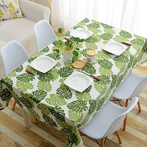 Cotton Canvas Tablecloth Exquisite Printing Thicken Canvas Dinner