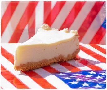 Original amerikanischer New York Cheesecake