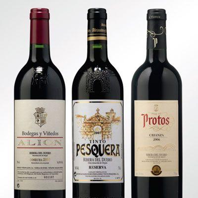 Ribera Del Duero Vinos Y Quesos Etiquetas De Vino Vino De España