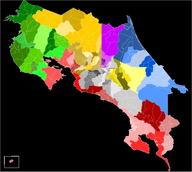 File Mapa De Costa Rica Cantones Y Distritos Svg Abstract Artwork Abstract Artwork