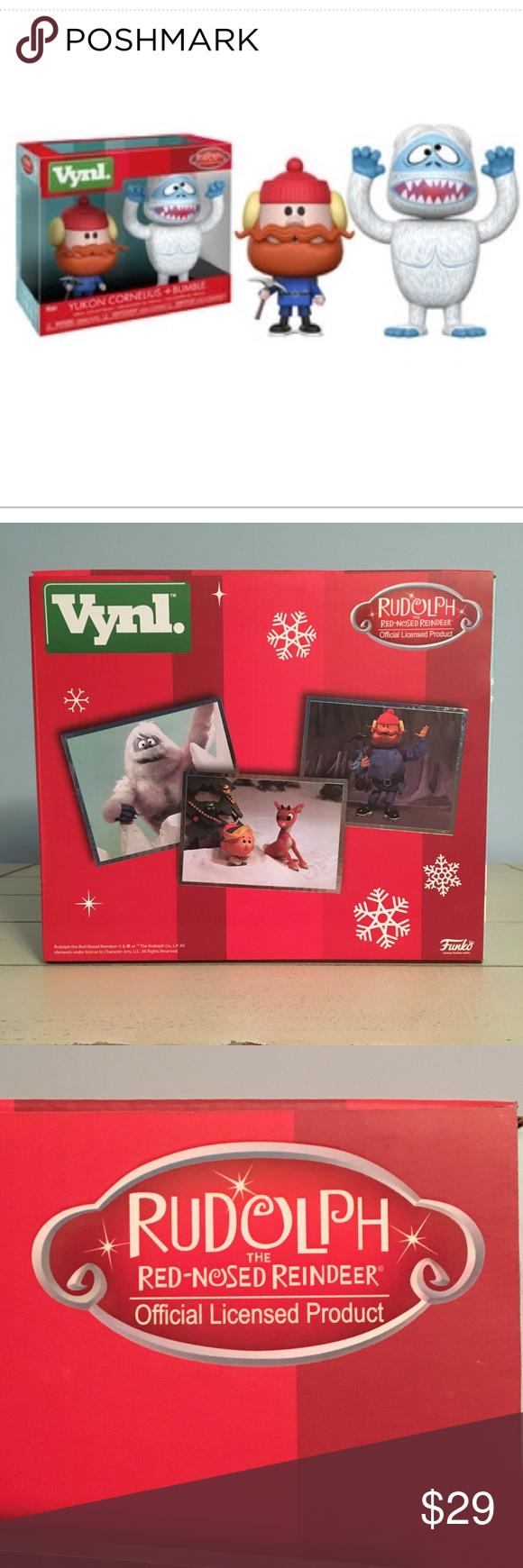 FUNKO VYNL. Rudolph Vinyl Figurines Brand FUNKO VYNL