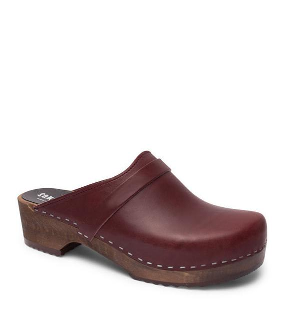 Swedish Clogs Handmade Clogs For Men Clog Mules Leather