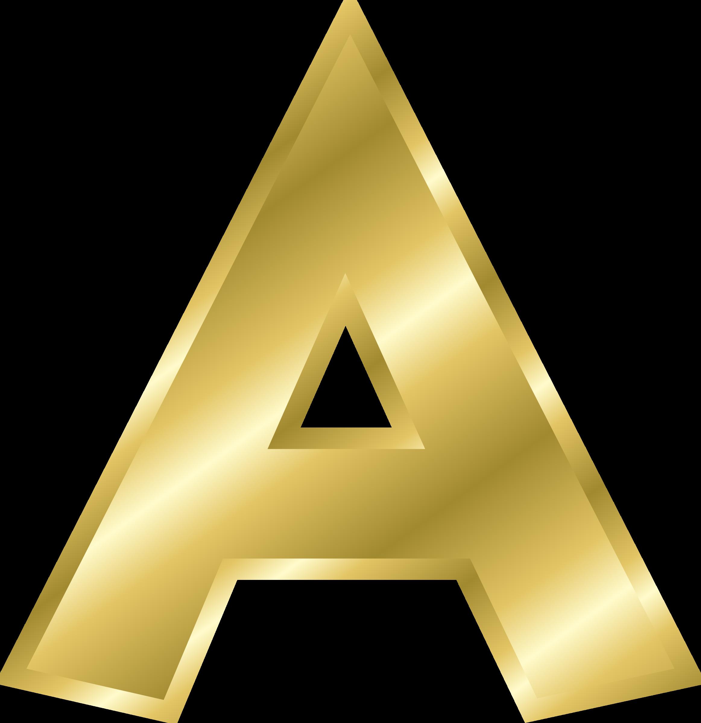 Gold Letter Png Image Lettering Alphabet Gold Letters Free Printable Banner Letters