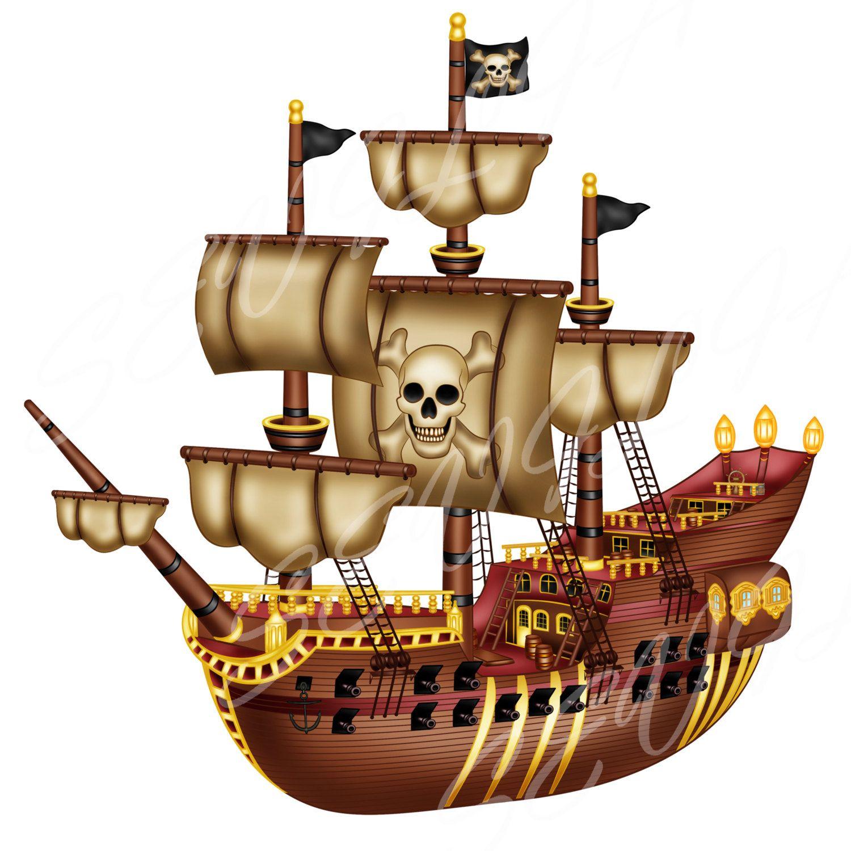 buy 2 get 2 free pirate clip art pirate ship clip art personal and rh pinterest com au