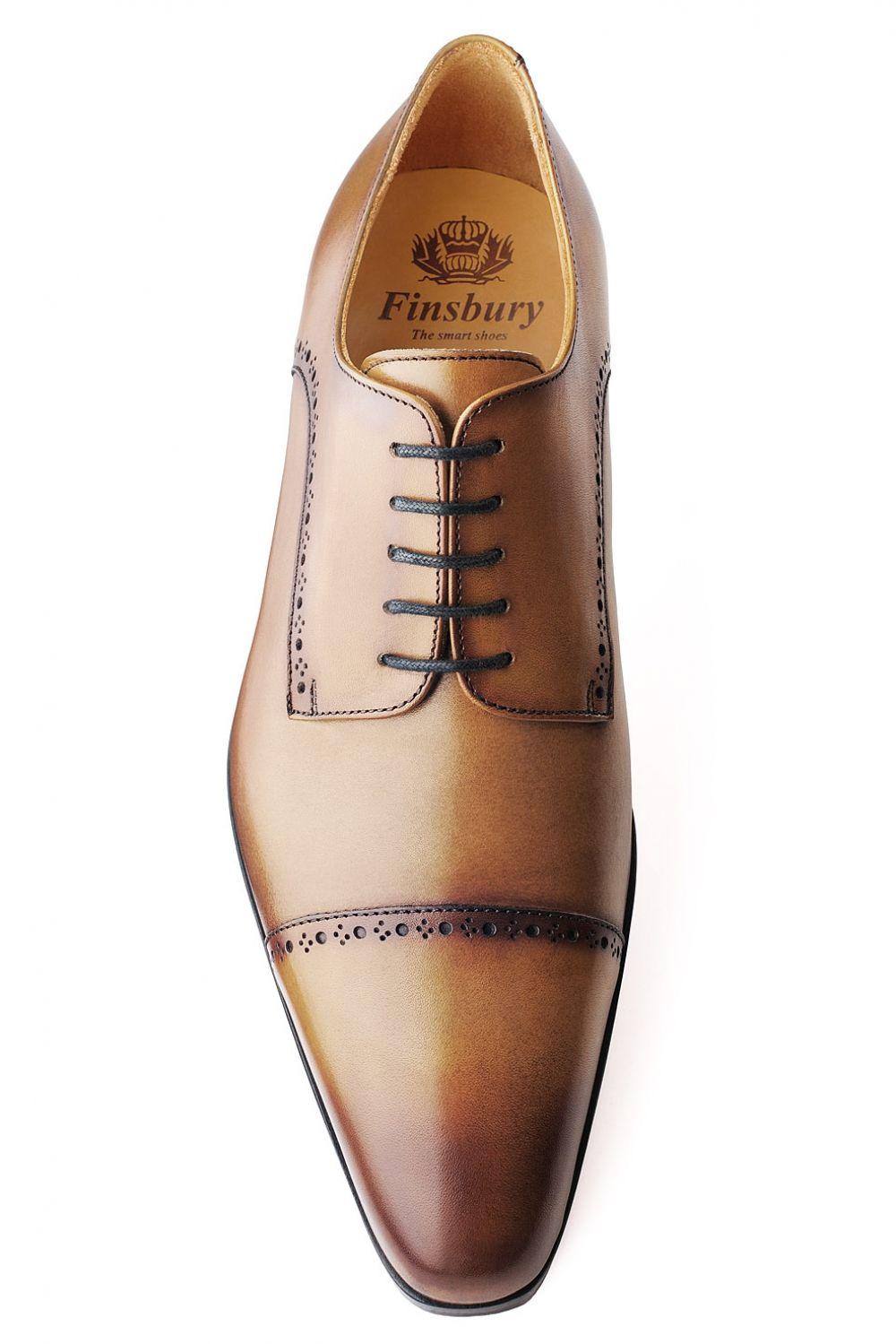 MONTANA Gold patiné Finsbury Shoes | Chaussures pour