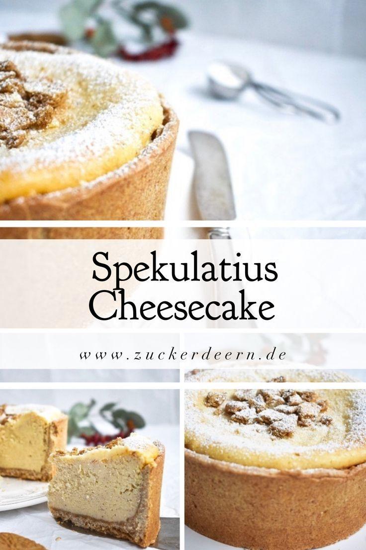 Rezept für einen Spekulatius Cheesecake – Zuckerdeern.de