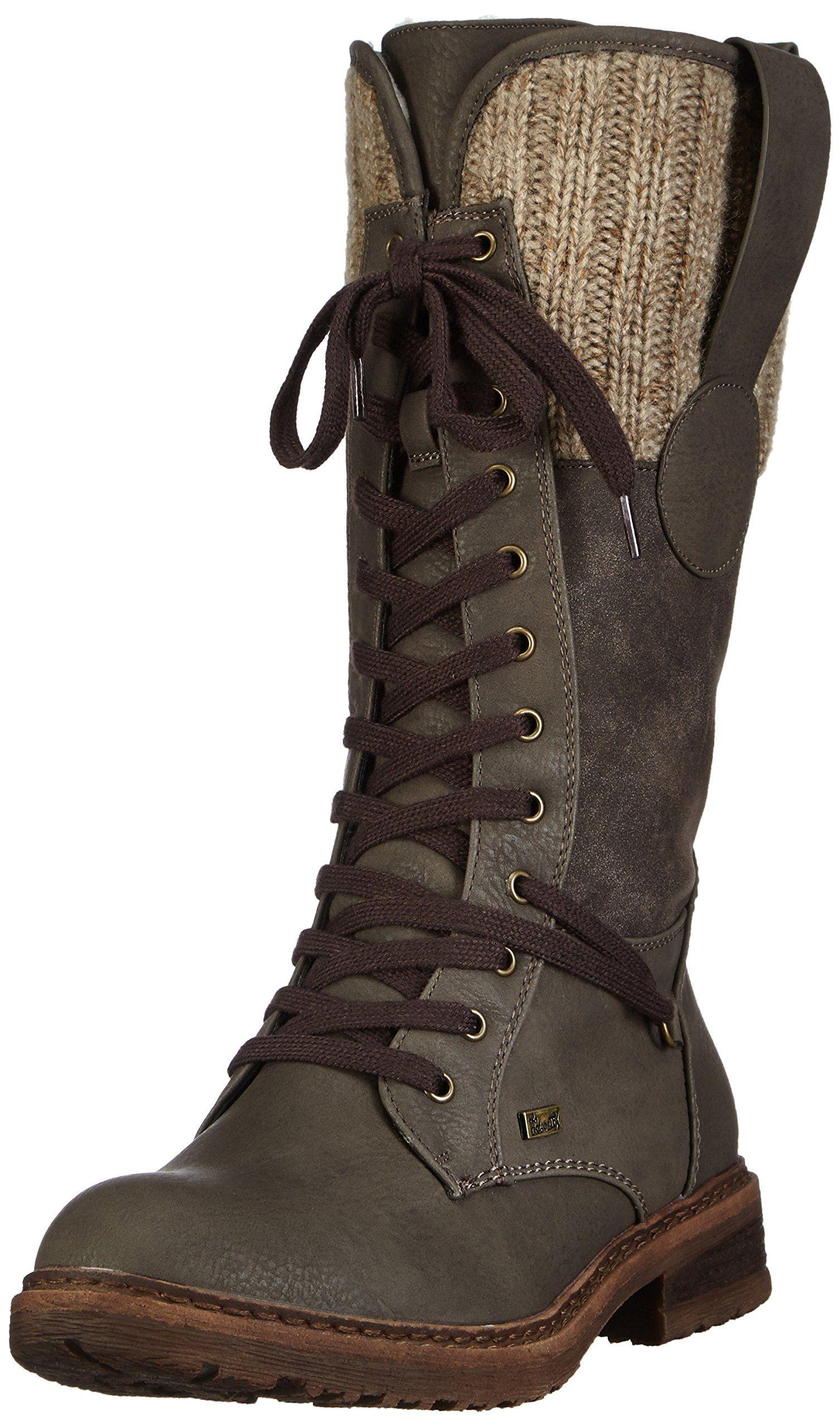rieker 94730 45, bottes femme: amazon.fr: chaussures et sacs