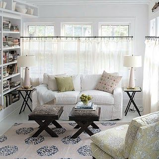 Sheer Cafe Curtains For Living Room Mint Green Decor Mandala Rug X Base Stools As Coffee Table How To Designs Design Photos Pictures Ideas The