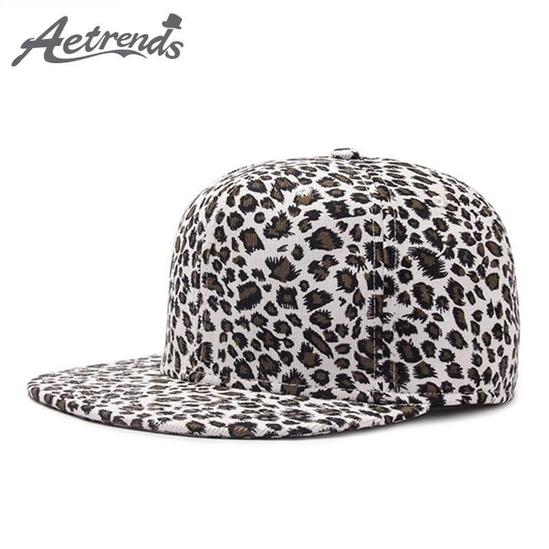 Hip hop cap 2018 gorra hip hop visera plana leopard flat snapback caps for women  men 11d963d388b0