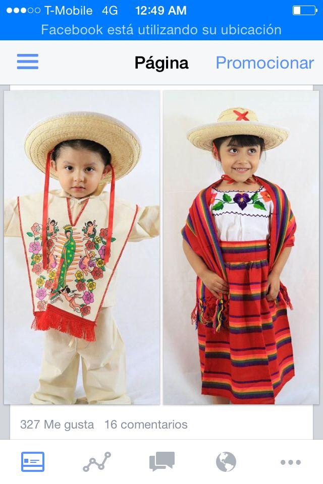 c13789762a0ac Trajes típicos para niños